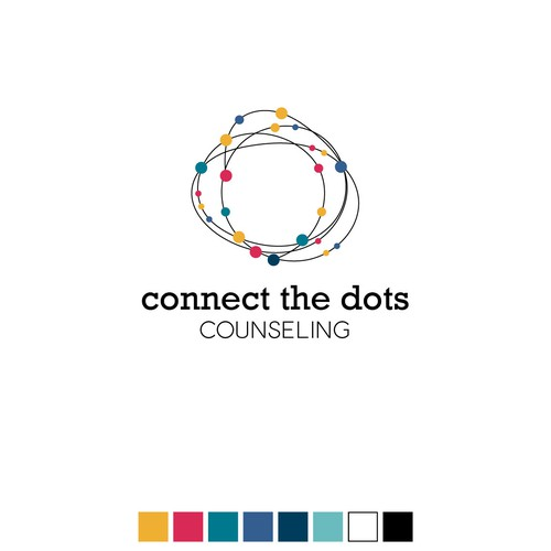 logo for connect the dots counseling