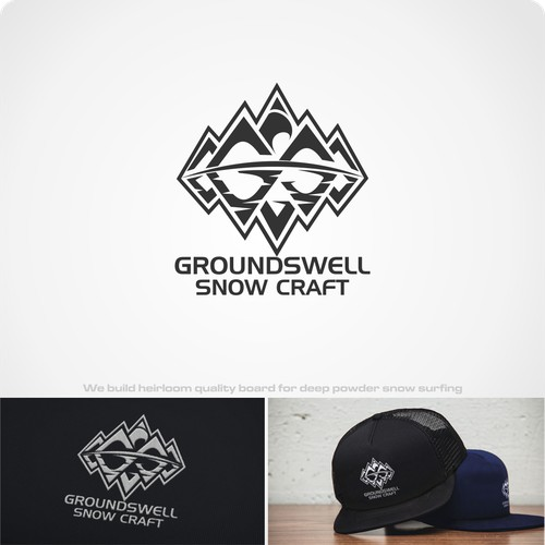 Craft snowboard brand logo project