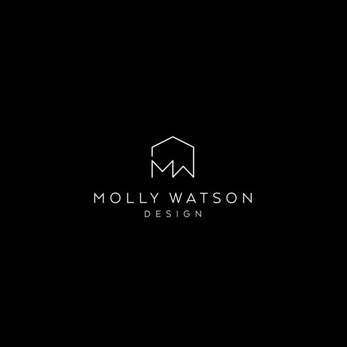 Simple minimalistic clean logo