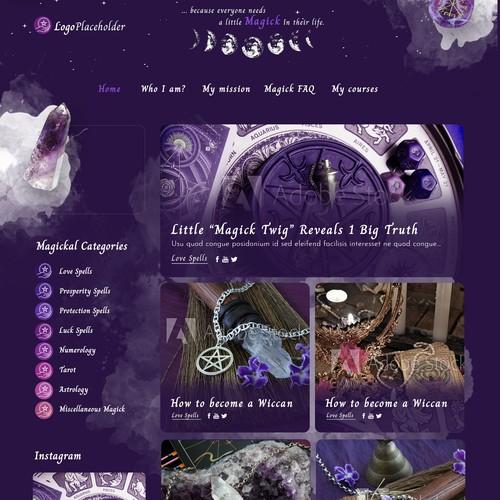 Magical Wordpress blog