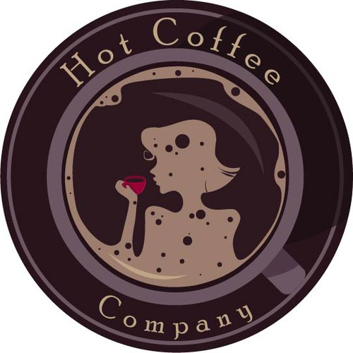logo for Hot Coffee Company