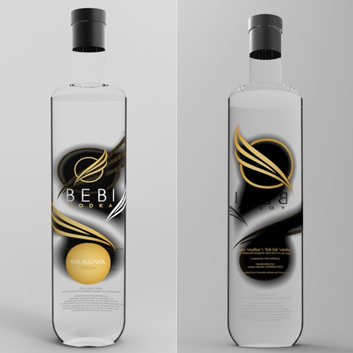 Bebi Vodka needs a new bottle design