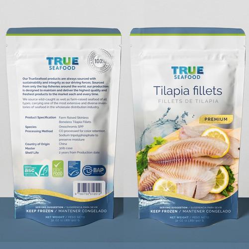 Tilapia package design