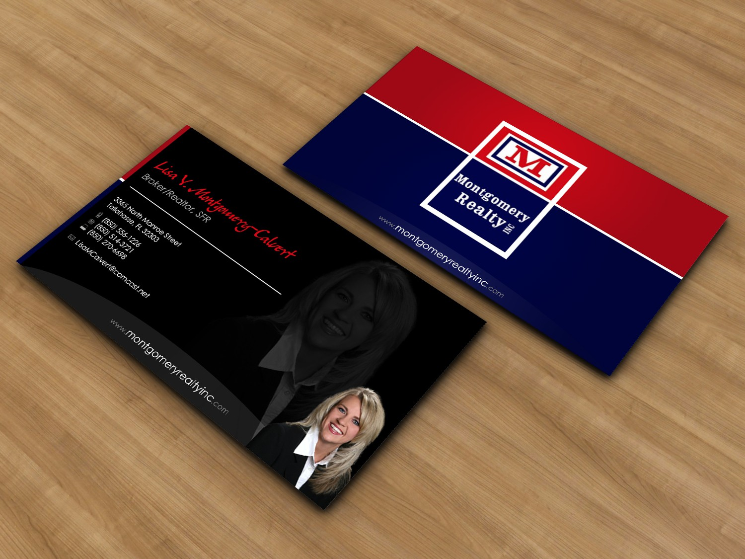 New print or packaging design wanted for Montgomery Realty Inc.