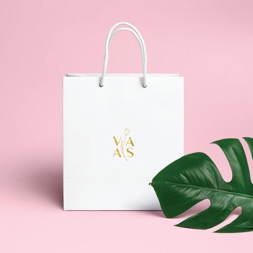 Flower shop logo concept