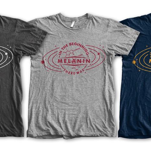 Melanin T-Shirt Logo