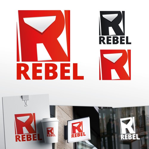 Rebel logo concept
