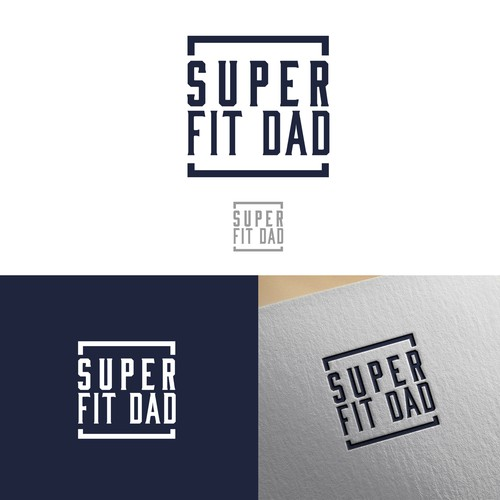 Super fit dad Logo