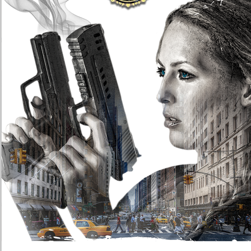 Cover design for a thriller about a female FBI agent