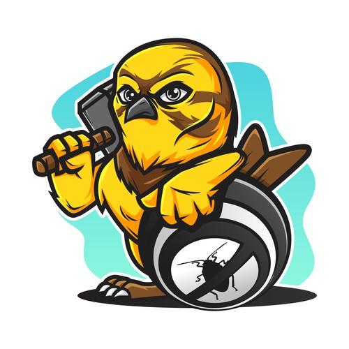 yellowhammer mascot