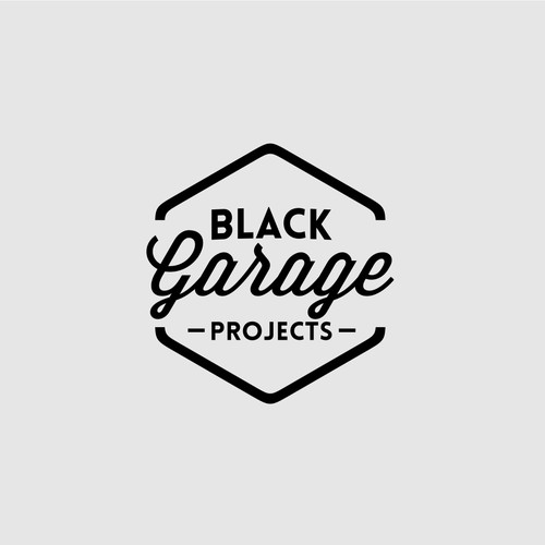 Create a dirty modern garage style logo for Project Management firm