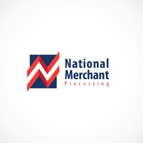 Create a winning logo for National Merchant Processing