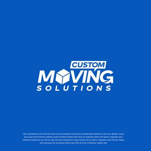 Custom Moving Solutions logo