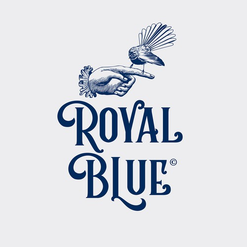 Logo and Packaging Design for Royal Blue