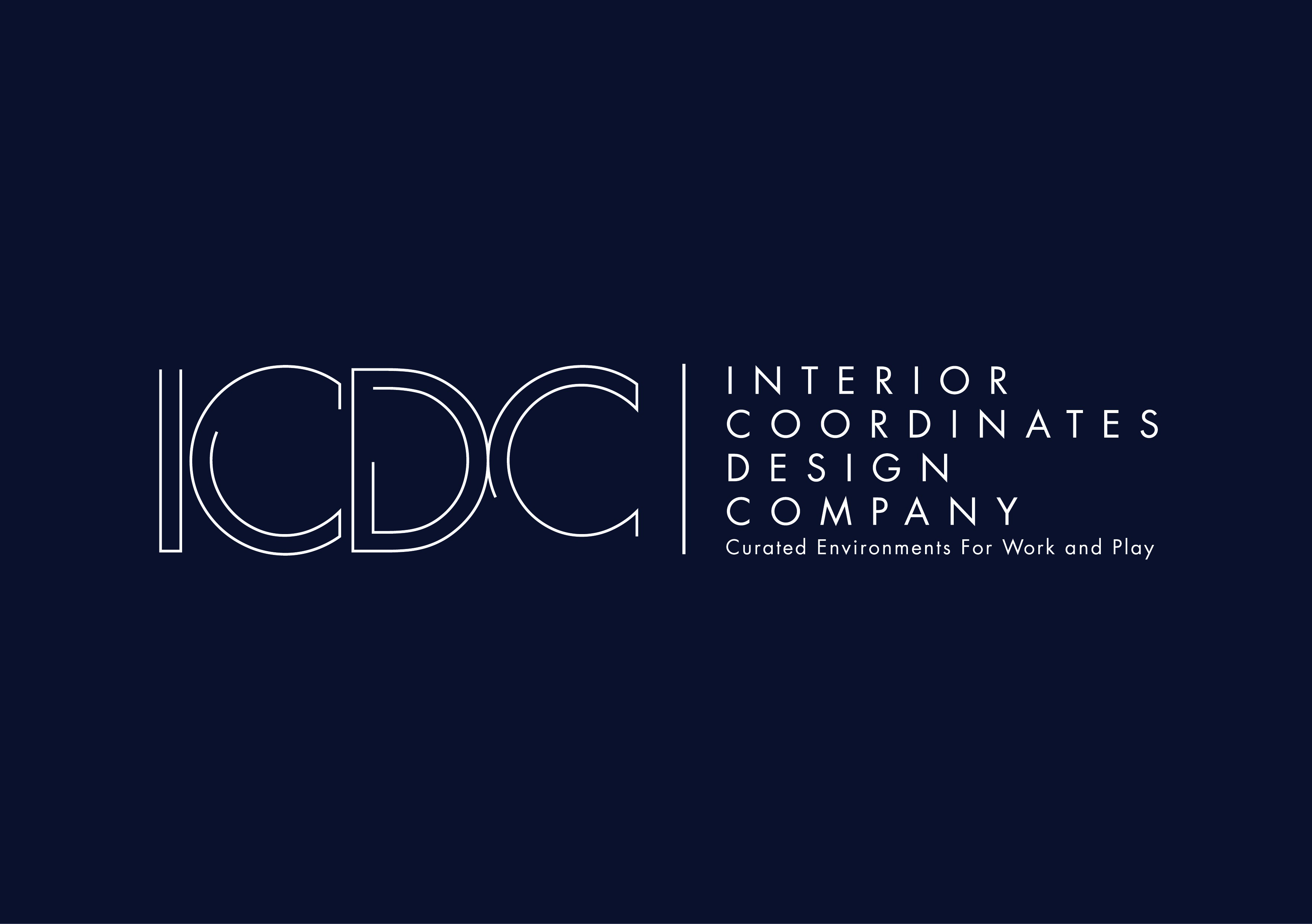 Clean and Professional Interior Design Logo