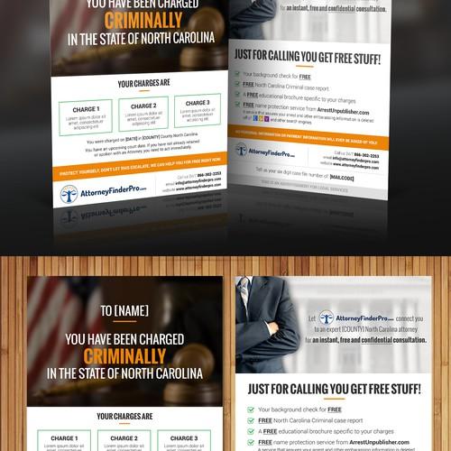Attorney Finder Pro Flyer Design