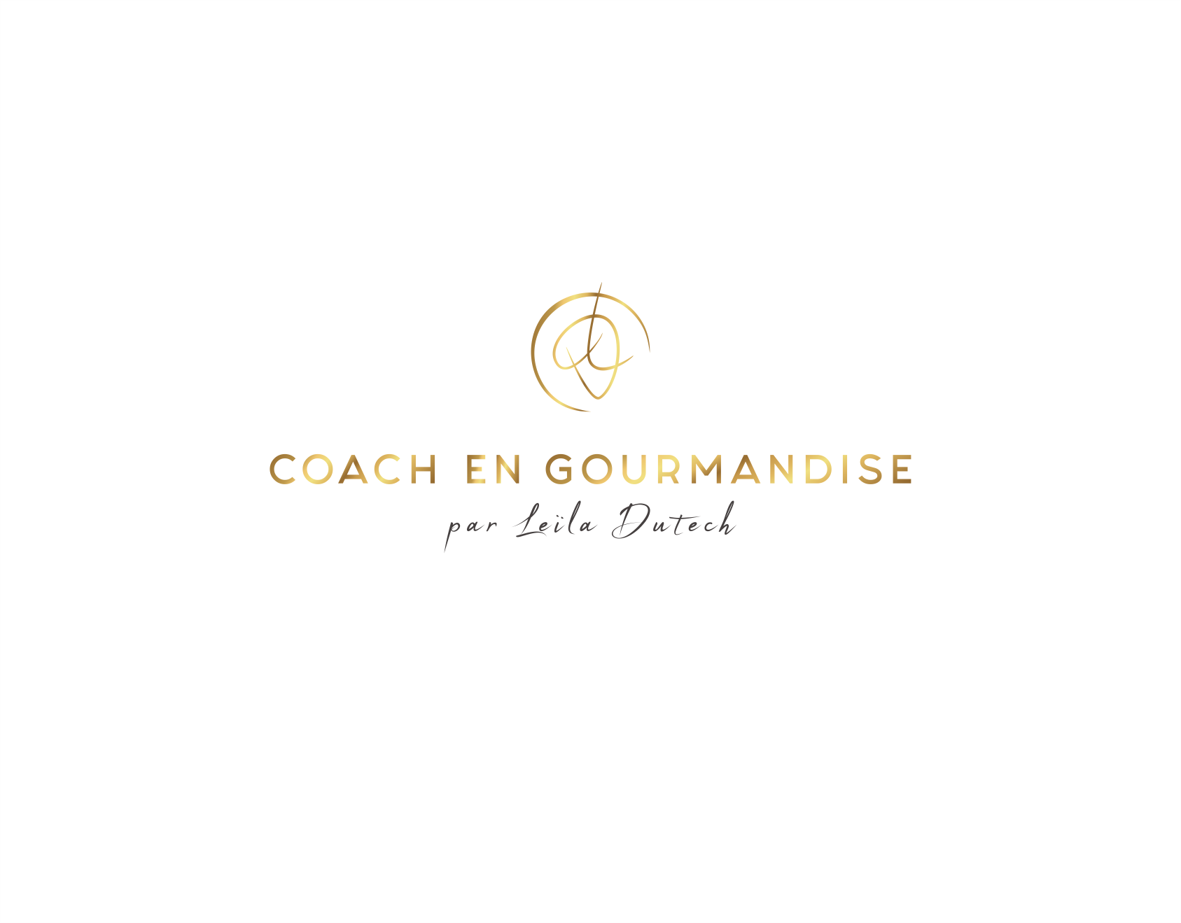 Classy and tasty logo for a friendly Gourmet coach