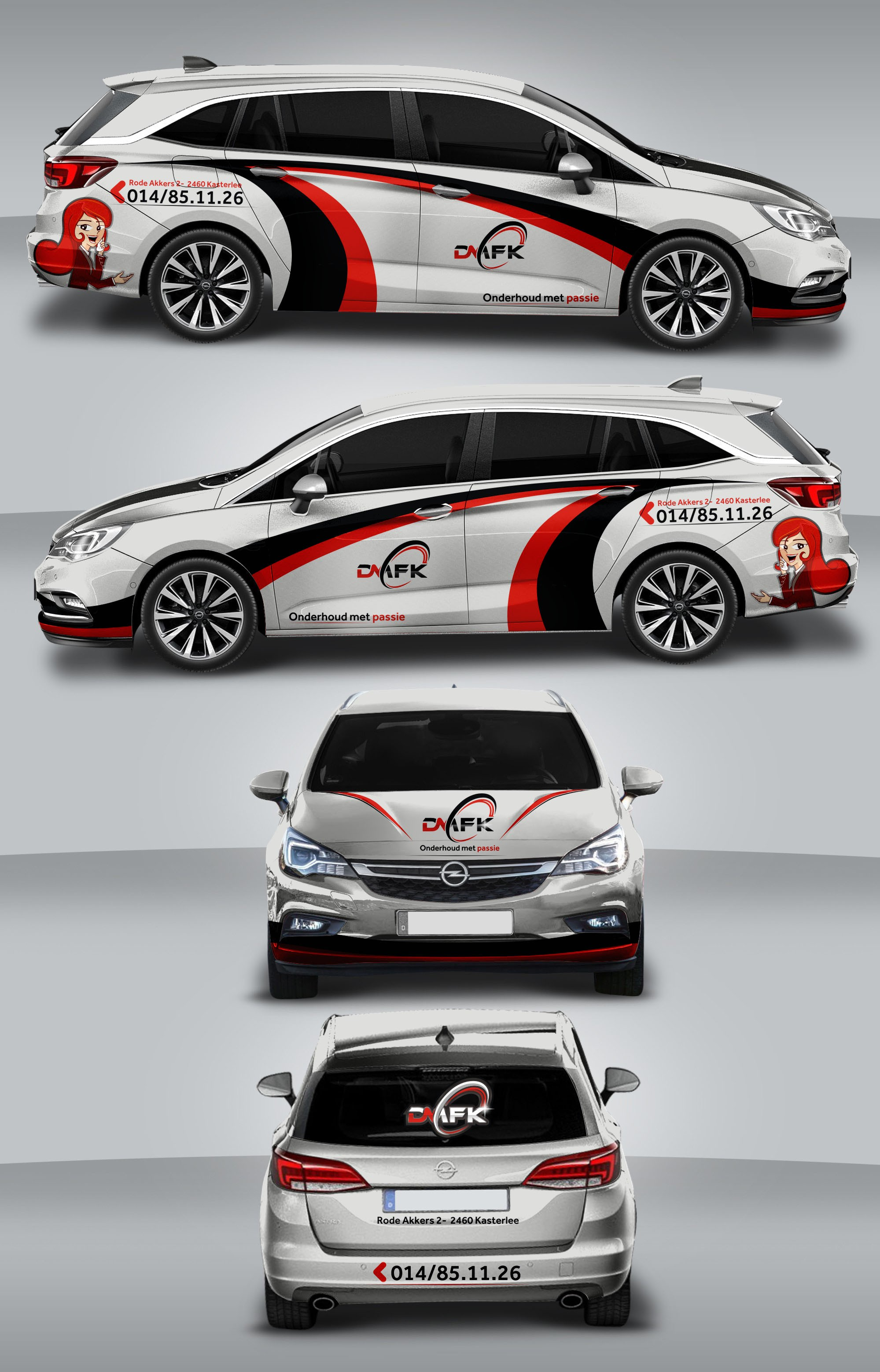 A wonderfull and creative car wrapping contest