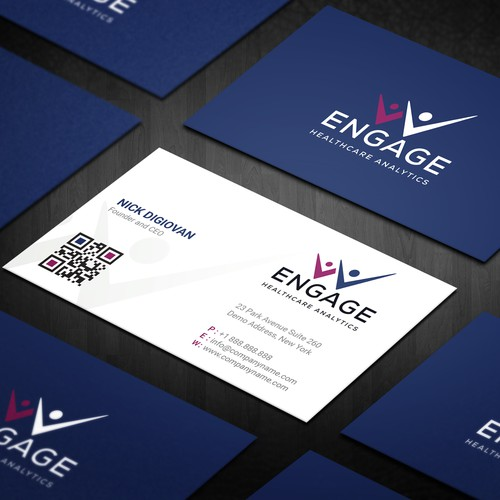Engage Analytics Business Card