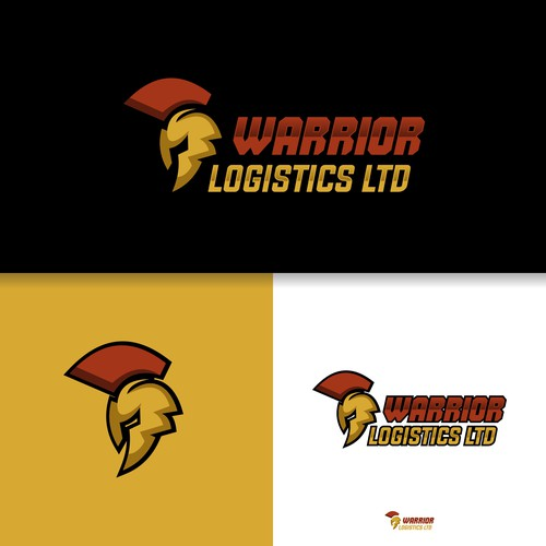 Logo for warior logistic