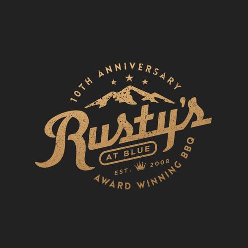 Rusty,s 10 th anniversary for award  winning BBQ