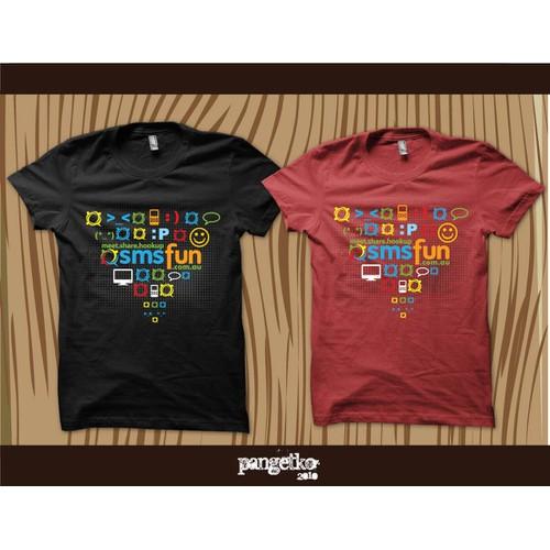 T-Shirt design for large Social Network