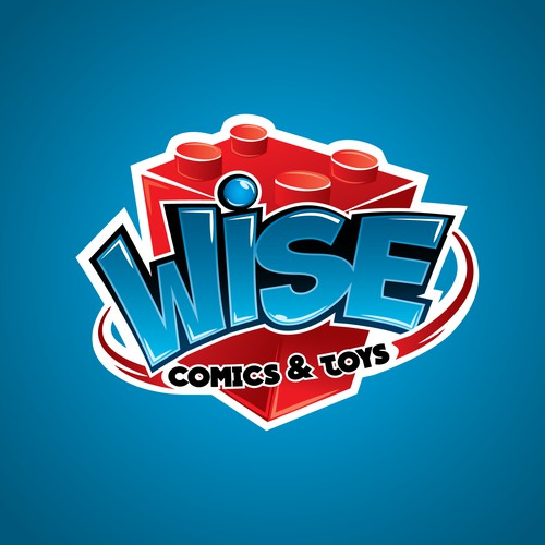 Logo Concept for a Comic and toy Store