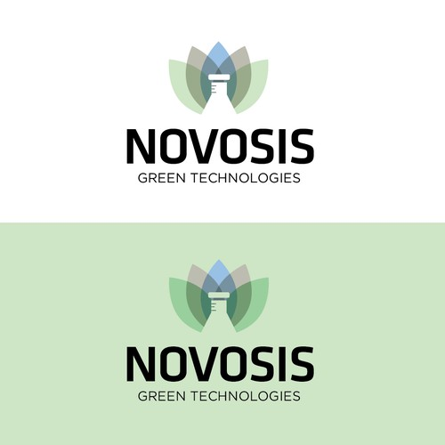 Create a clean, impactful logo for Novosis