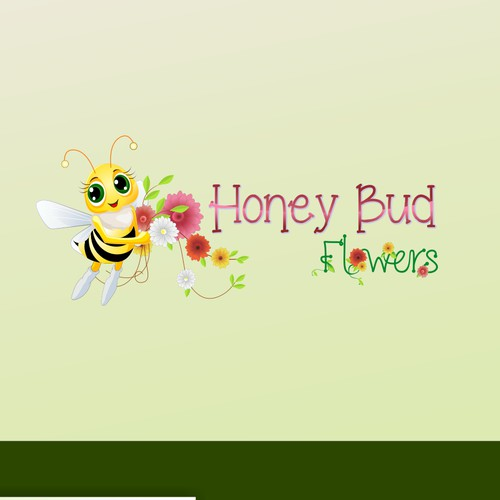 Honey Bud Flowers fun design
