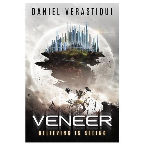 Veneer - Sci-fi Novel Cover Design