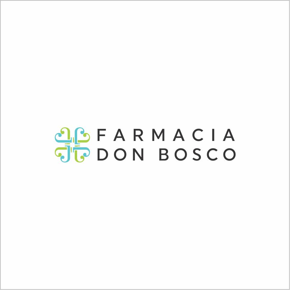 Farmacia don Bosco snc, una professione antica ti sfida a creare un logo al passo coi tempi.