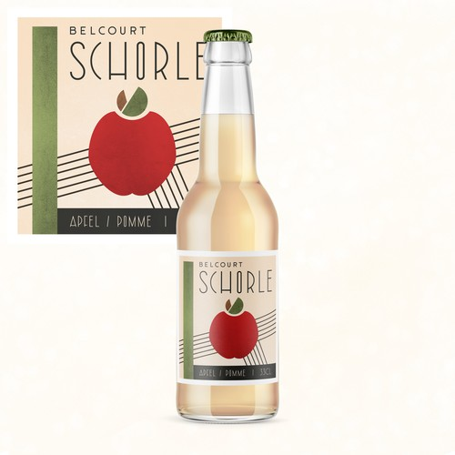 Creative Label for Apple Spritzer