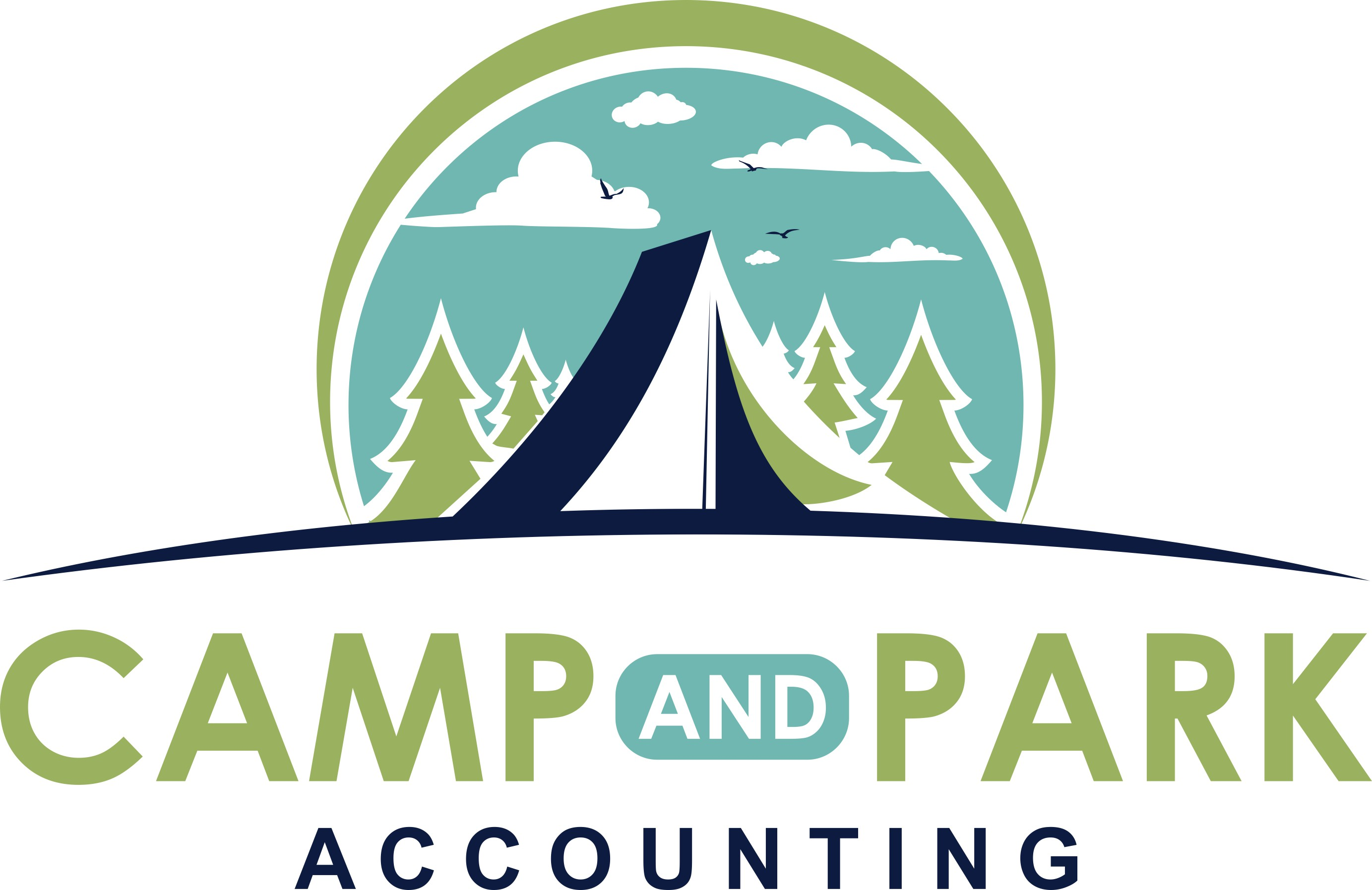 Design an Eye-Catching Logo for Camp and Park Accounting