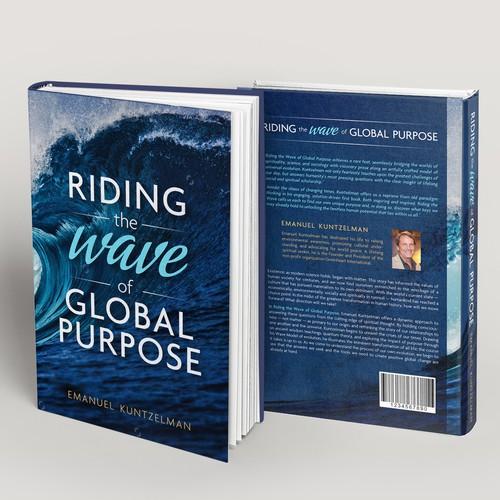 Crisp Modern Book Cover for Spiritual Book