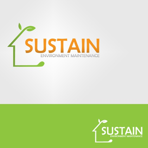 """Sustain (or """"Sustain Environment Maintenance"""") needs a new logo and business card"""