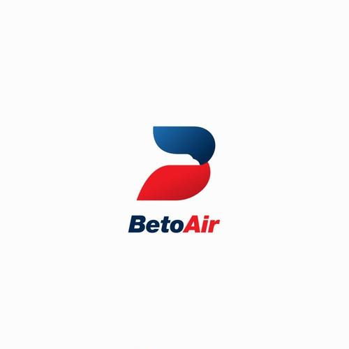 Beto Air logo concept