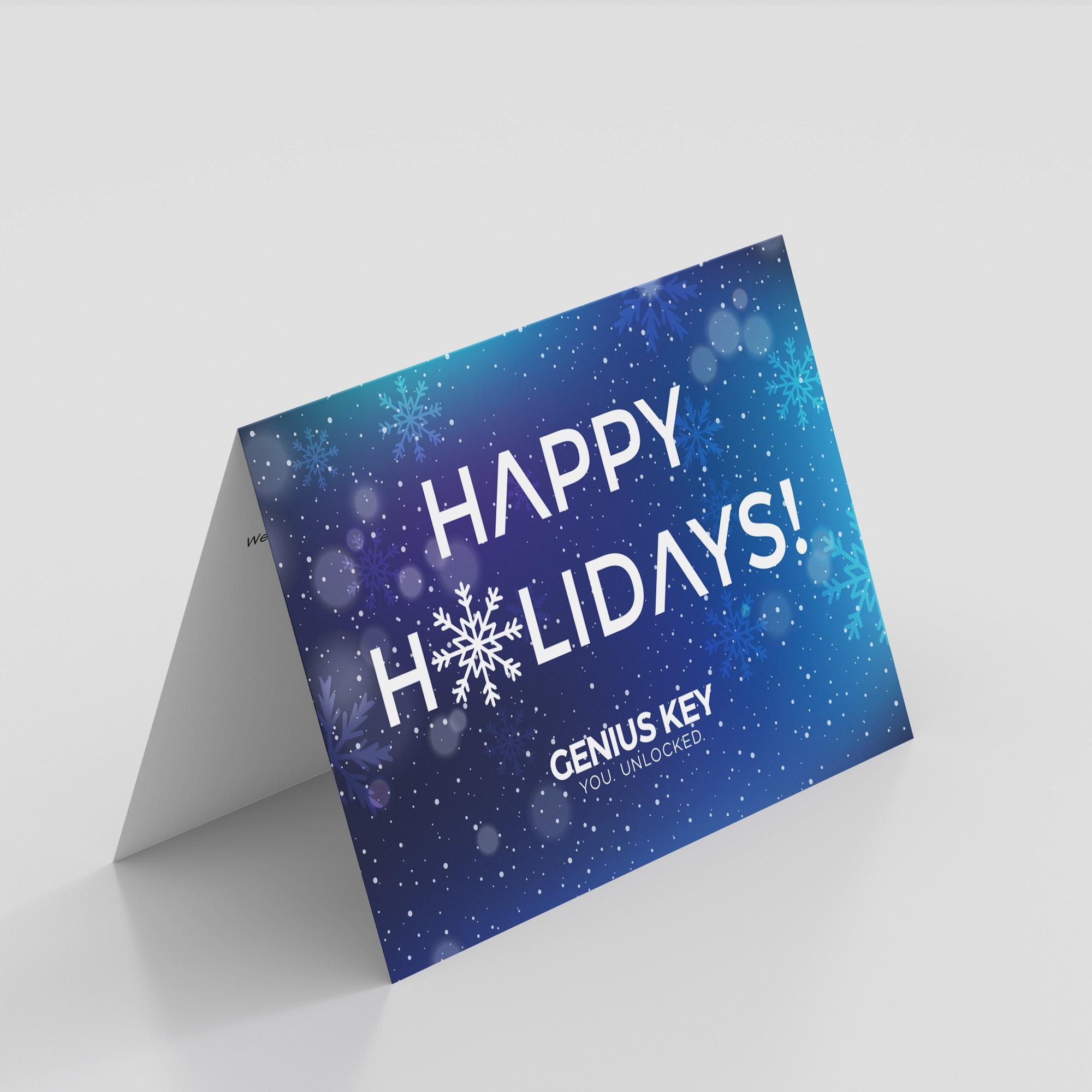 Genius Key Holiday Cards