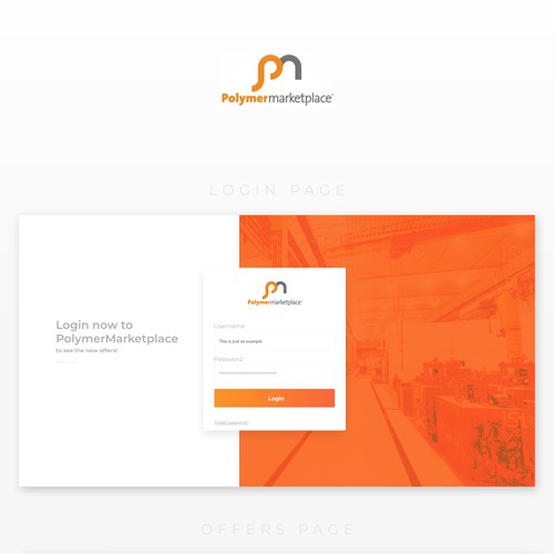 Redesign of the PolymerMarketplace's customers portal