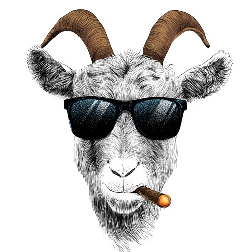HQ goat avatar