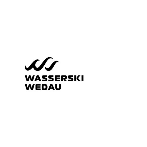 Logo for a wakeboard park