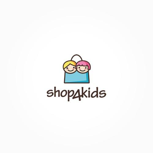 Original, captivating logo for our online kids shop