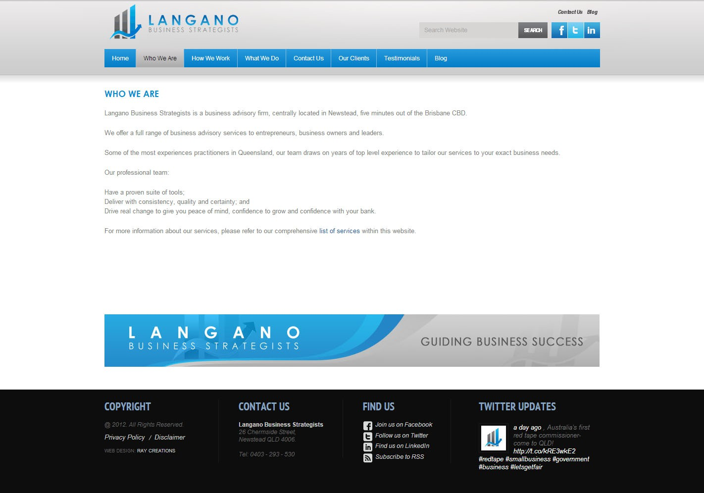 New business or advertising wanted for Langano Business Strategists