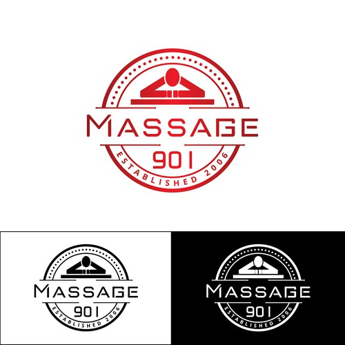 Massage 901 needs a cool, hip, wellness logo to connect with huge shop local 901 movement in Memphis