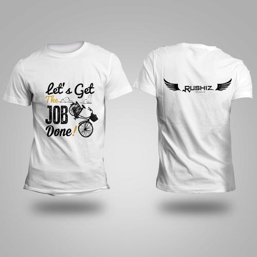 T-shirt DesignFor Rushiz