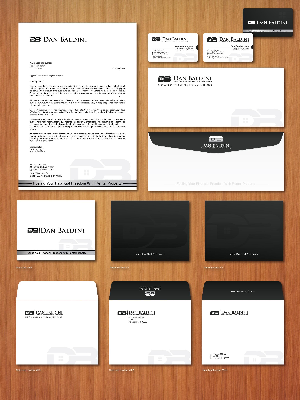 Dan Baldini Letterhead/Identity package