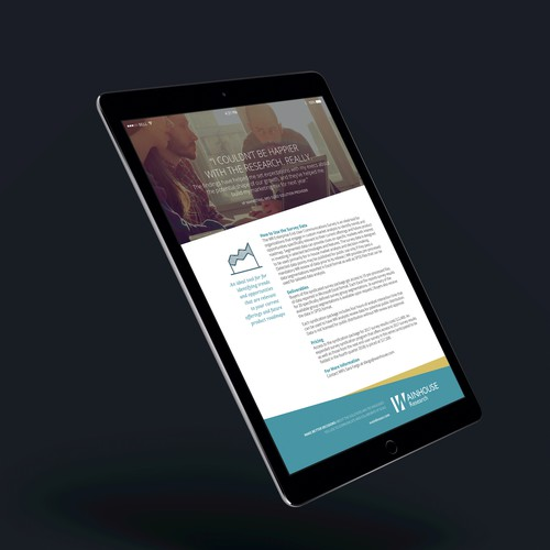 Corporate one-pager web/print