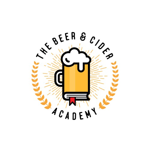 The Beer and Cider Academy logo design