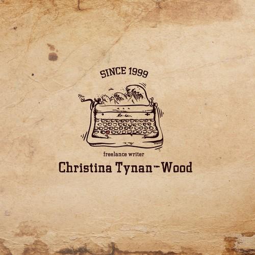 Vintage logo for Christina Tynan-Wood - Freelance writer