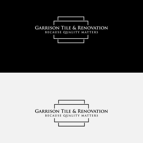 Logo for Garrison Tile & Renovation.