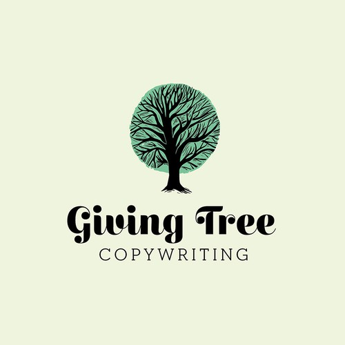 Fun, Unique Tree Logo for Personal Brand